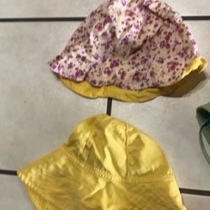 309ac262e Girls toddler summer hat bundle! 4 pieces!